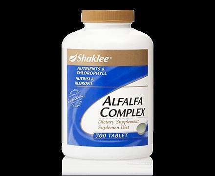 Alfalfa Complex Shaklee Malaysia | Geng Detox