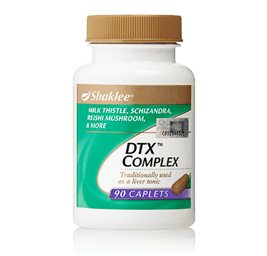 DTX Complex Shaklee Malaysia | Geng Detox